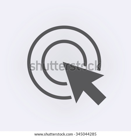 Cursor icon . Vector illustration