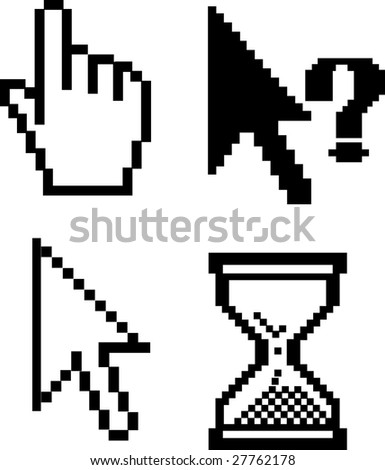 cursors v.5 - vector set