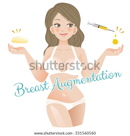 curvy woman breast augmentation