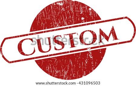 Custom rubber seal