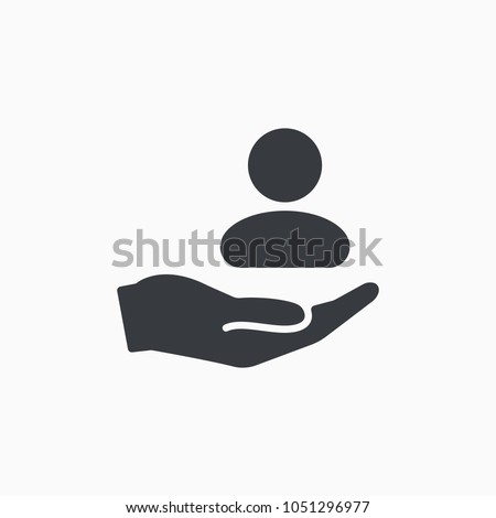 Customer care icon. Customer Retention Patient assistance icon. Service support. Safety pictogram. Icon, care, customer, retention, patient, client, help, consumer, vector, audience, service