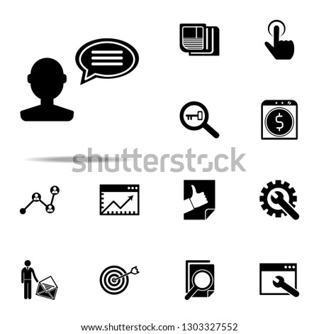 customer reviews icon. Seo & Development icons universal set for web and mobile #1303327552