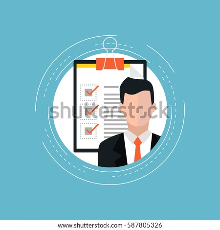 Customer service rating flat vector illustration design. Job recruitment, business, career choices, evaluation, review, customer feedback, customer service survey form. Design for web banners and apps
