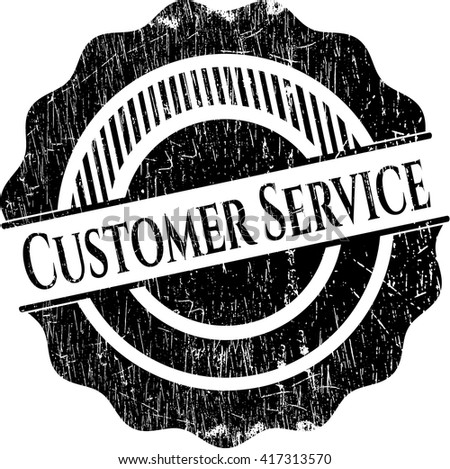 Customer Service rubber grunge seal