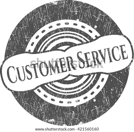 Customer Service rubber texture