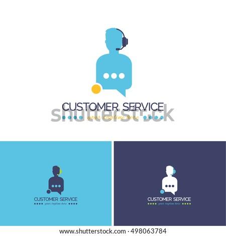 Customer Service Vector Icons, Logos, Sign, Symbol Template