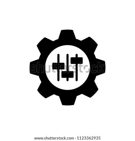 customisation icon, vector illustration ストックフォト ©
