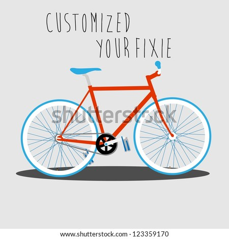 customized your fixie 2
