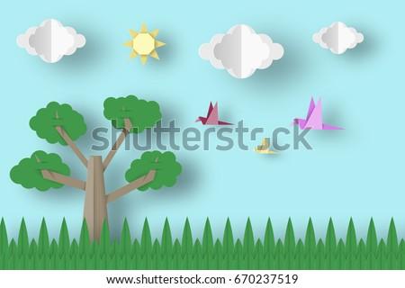 landscape scene template download free vector art stock graphics