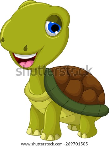 cut cartoon turtle for you