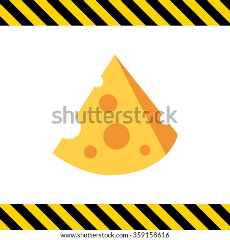 cut cheese piece