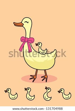 cut duck