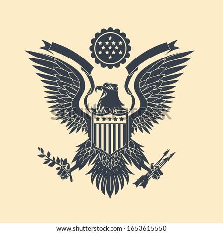 cut out american eagle emblem