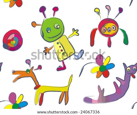 cute abstract background
