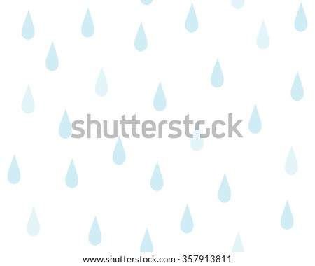 cute abstract water drop