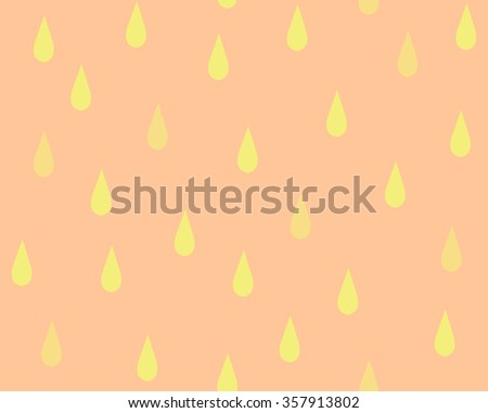 Pattern Vector Of Simple Rain Drops