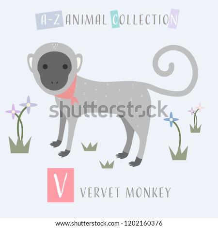 cute adorable animals alphabet