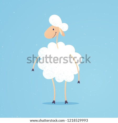 cute and funny adorable sheep