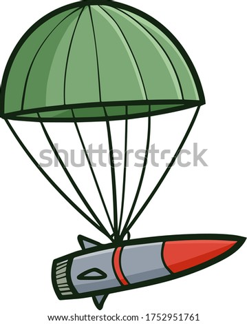 cute and funny missile going