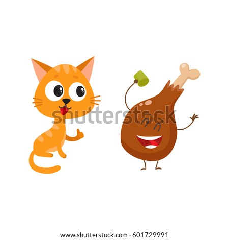cute and funny red cat  kitten