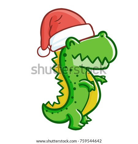 cute and funny t rex wearing
