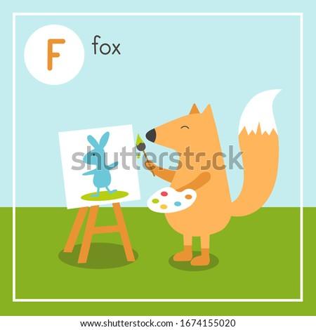 cute animal alphabet for abc