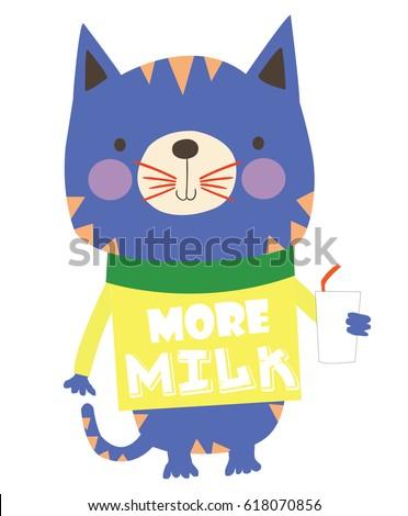 cute animal cartoon artwork vector