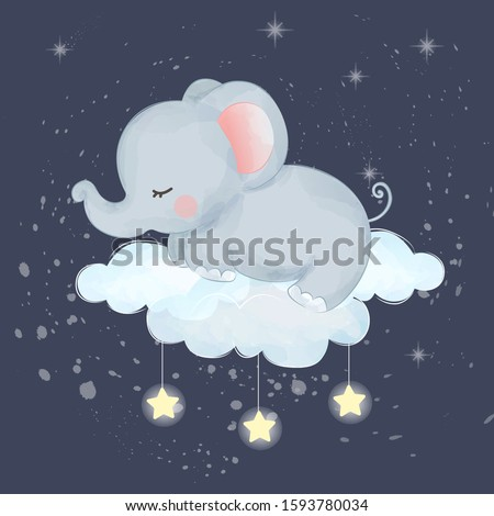 cute animals illustration for baby room decoration, t-shirt design and many more