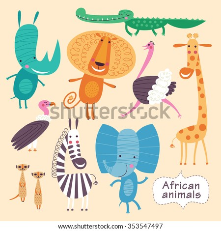 cute animals of africa