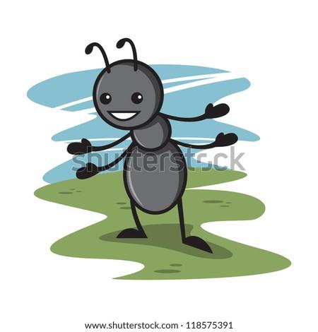 Cute Ant Logo Cute Ant Cartoon 4
