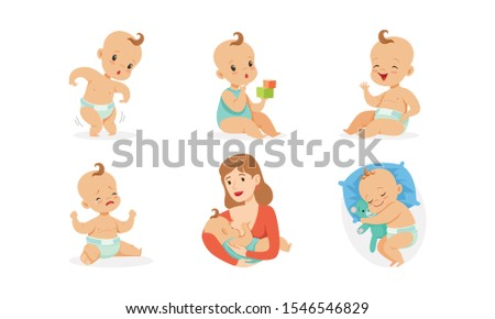 cute babies in different