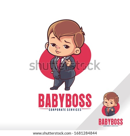 cute baby boss child cartoon