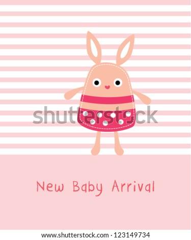 cute baby bunny arrival
