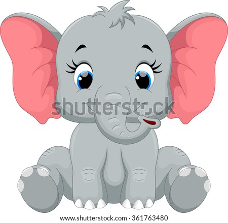 stock-vector-cute-baby-elephant-cartoon-sitting