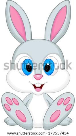 cute baby rabbit cartoon