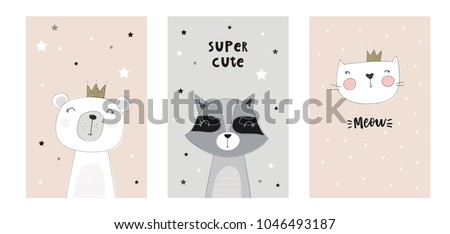 cute baby shower cards with...