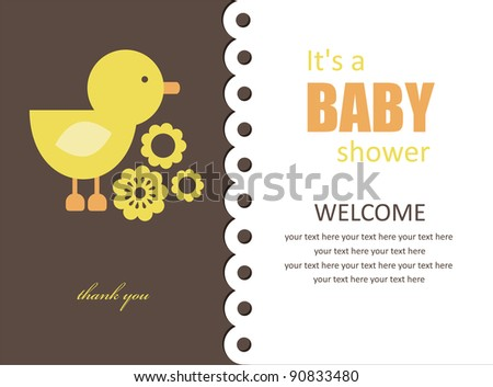 cute baby shower design vector illustration 90833480 shutterstock