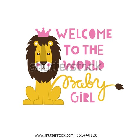 cute baby shower. vector illustration #361440128