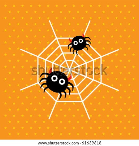 cute baby spider monster
