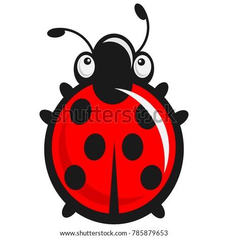 Cute babyish Ladybug