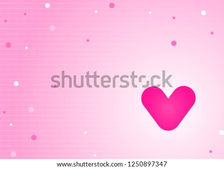 Cute Pink Valentine S Day Background Download Free Vector Art