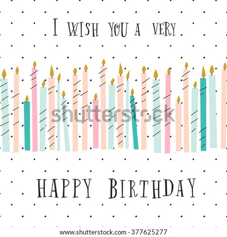 stock-vector-cute-birthday-greeting-card-with-color-candles