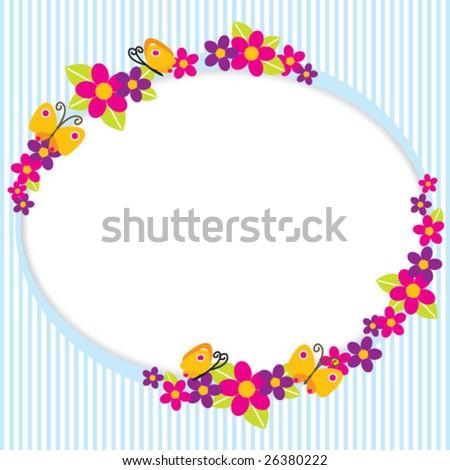 Cute Border Clip Art