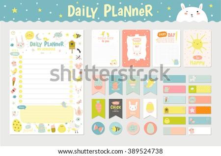 cute calendar daily planner