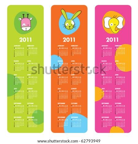Cute calendars 2011