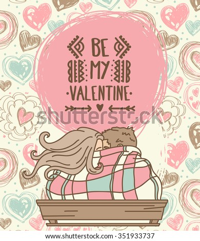 cute card for valentine's day