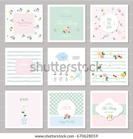 cute cards for girls with