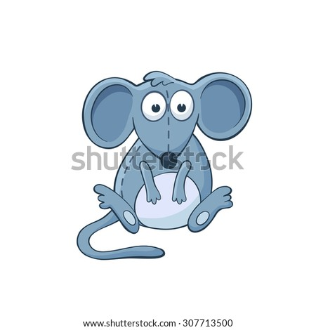 isolated characters in of mice and