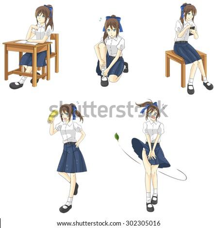 School Activities Cartoons