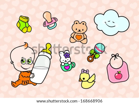 Baby Cartoon Characters Pictures Cute Cartoon Baby Character